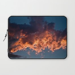 Clouds On Fire Laptop Sleeve