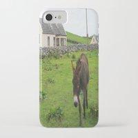 irish iPhone & iPod Cases featuring Irish Cottage by Kim Ramage