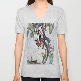 Jack and the Beanstalk Unisex V-Neck