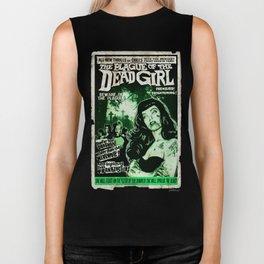 """DEAD GIRL SUPERSTAR """"THE PLAGUE OF THE DEAD GIRL"""" Biker Tank"""