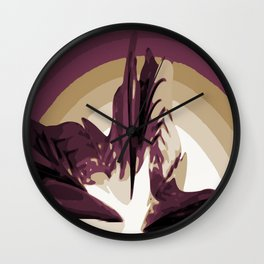 The Rise of Lava Wall Clock