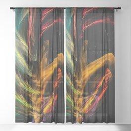Thinker Sheer Curtain