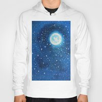 starry night Hoodies featuring Starry Night by maggs326