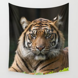 Look into my eyes by Teresa Thompson Wall Tapestry