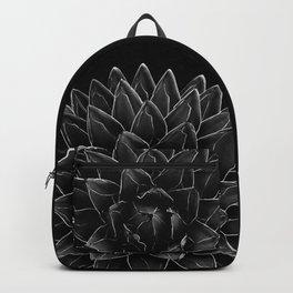 Black Agave Chic #1 #succulent #decor #art #society6 Art Print Backpack