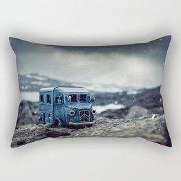 Little cars, Big Planet (Snow) Rectangular Pillow