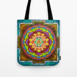 Intuition Sri Yantra II Tote Bag