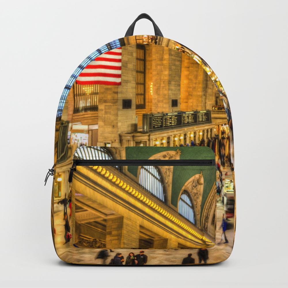 Grand Central Station New York Backpack by Davidpyatt BKP8584008