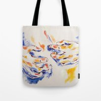 body Tote Bags featuring Body by Peter Dannenbaum