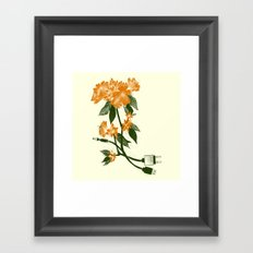 Digital Spring Framed Art Print