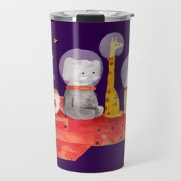 Let's All Go To Mars Travel Mug