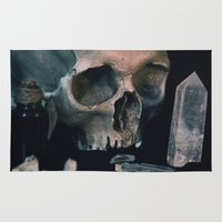 alchemy Area & Throw Rugs featuring Darkest alchemy by Aderhine