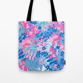 Pastel Watercolor Flowers Tote Bag