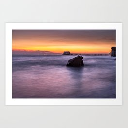 Swansea Bay Sunrise Art Print