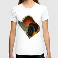 guitar T-shirts featuring Guitar by Bruce Stanfield
