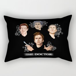 9th 10th 11th and 12th Doctor who iPhone 4 4s 5 5c 6 7, pillow case, mugs and tshirt Rectangular Pillow