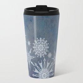 Snowflake Bouquet Travel Mug