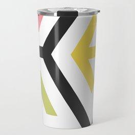 Arrow in pastel Travel Mug