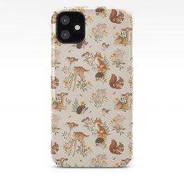 Meadow Friends iPhone Case