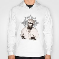 2pac Hoodies featuring Guru // GangStarr by Gold Blood