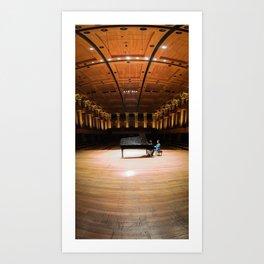 Concert Hall Art Print