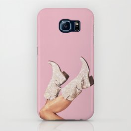 These Boots - Glitter Pink iPhone Case