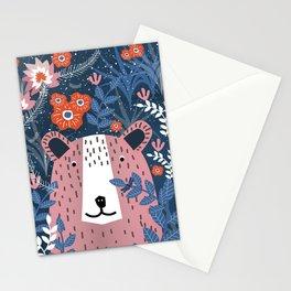 Bear Garden Stationery Cards