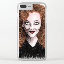 Nan Goldin Clear iPhone Case