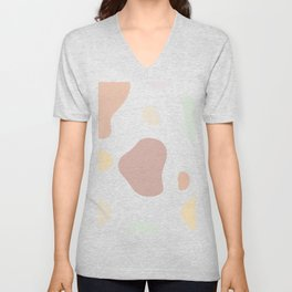 Moo patches - Honeycomb colour series  Unisex V-Neck