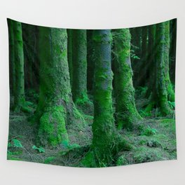 IRISH FOREST Wall Tapestry