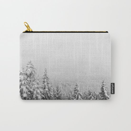 Winter vibes #evergreen #society6 Carry-All Pouch