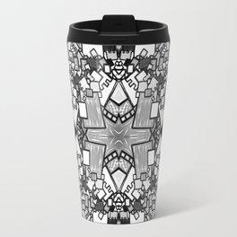 Tate - Created by a Genius (Square/Sym/BW/2) Travel Mug