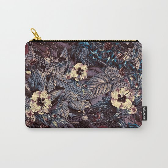 dark flowers Carry-All Pouch
