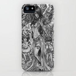 Devourer of Angels iPhone Case