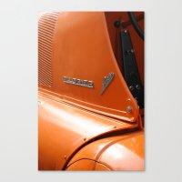 porsche Canvas Prints featuring Allgaier Porsche by Christine baessler