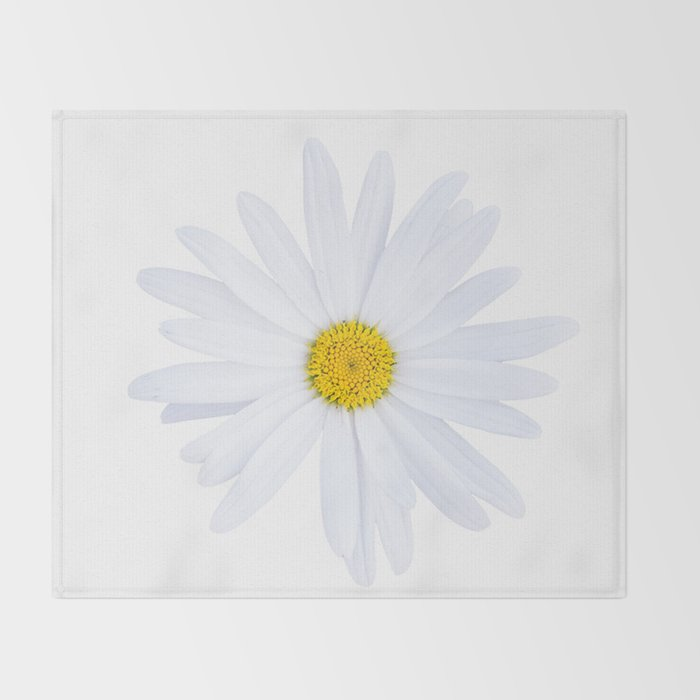 Sunshine daisy Throw Blanket