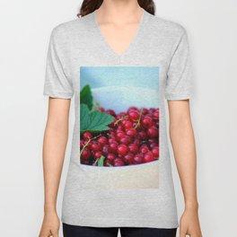Currant Fruit Vitamins Unisex V-Neck