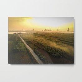 Fields of Vietnam Metal Print