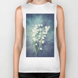 Lily Of The Valley II Biker Tank