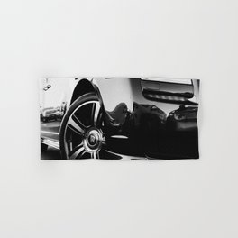 Rolls Rims // Black and White Luxury Super Car Photography Real Life Street Shots Hand & Bath Towel