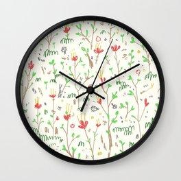 Woodland Floor Light Wall Clock