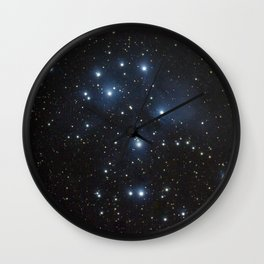 Pleiades (M45) Wall Clock