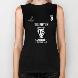 Juventus Champions League 2017 Final cardiff REAL MADRID Biker Tank