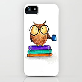 Oliver the Owl iPhone Case