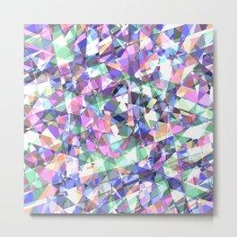 Lazer Diamond Metal Print