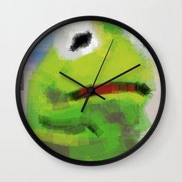 kermoji Wall Clock
