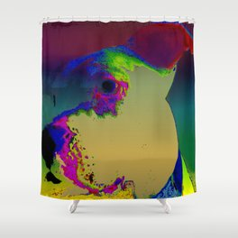 PITTY PAT Shower Curtain