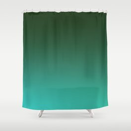 SHADOWS AND COUNTERPARTS - Minimal Plain Soft Mood Color Blend Prints Shower Curtain