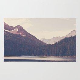 Morning Mountain Lake Rug