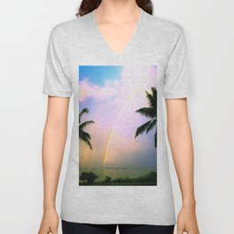 A Personal Message From Above ... By LadyShalene Unisex V-Neck